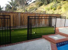 For Orange County Dog Run installations, call today. We use top of the line American Synthetic Turf for our dog runs and side yards. A durable, safe, water saving, and clean alternative to natural grass. Synthetic Turf is perfect for your Orange County Dog Run