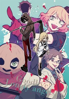 xả ảnh angel of death - 1 - Wattpad Anime Angel, Me Anime, Anime Art, Angel Of Death, Fanart, Mad Father, Pink Ocean, Satsuriku No Tenshi, Rpg Horror Games