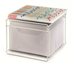 VISIMAP Körbchen A4 Quer 336 mm, Mappenbox, Sammelbox, Sammelkorb, Heftesammler, Registerbox, Körbe - Büroorganisation Werkstattorganisation