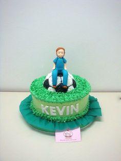 Bonita torta de #merengue para el cumpleaños de Kevin #fútbol. Gracias por la preferencia!!