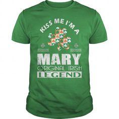 Awesome Tee KISS Mary ORIGINAL IRISH LEGEND T shirts