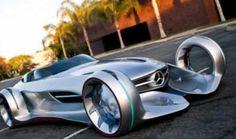 Mercedes-Benz Silver Lightning Concept Car.