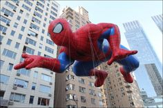 The Spiderman balloon participates in the 86th Annual Macy's Thanksgiving Day Parade - (c) ASSOCIATED PRESS