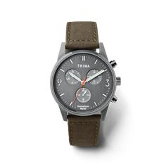 Humanium 39 Chrono Canvas Leather, Firearms, Chronograph, Two By Two, Guns, Quartz, Watches, Metal, Accessories
