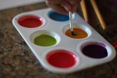 Playing House: DIY Watercolors