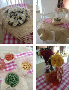 Decoração para festa junina Farm Themed Party, Farm Party, Food Decoration, Table Decorations, Start The Party, Happy Party, Boy Shower, Event Decor, Party Time