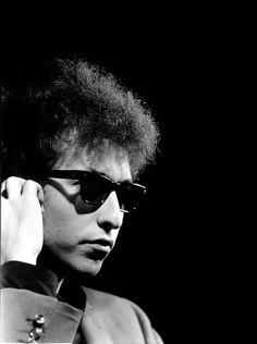 Bob Dylan, 1965 'Bob Dylan arrived at the Factory with Bob Neuwirth to negotiate with Andy, who wanted Dylan to star in one of his films. Dylan tensely agreed to a screen test, during which this shot was taken. Afterwards, Dylan picked up one of...