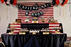 Pirate Themed 6th Birthday Party