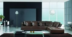 Stylish Design Furniture - BO-3878 - Contemporary Brown Leather Sectional Sofa, $2,092.50 (http://www.stylishdesignfurniture.com/products/bo-3878-contemporary-brown-leather-sectional-sofa.html)