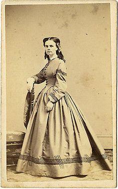 c. 1865 Arizona Indian Captive Olive Oatman ~ Powelson, Rochester, NY