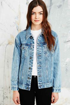 Urban outfitters BDG Authentic Denim Jacket- Size M http://www.urbanoutfitters.com/uk/catalog/productdetail.jsp?currency=200002&id=5133450089161&parentid=WOMENS-COATS-JACKETS-EU#/