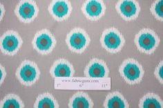 All Outdoor Fabric :: Premier Prints Ikat Domino Outdoor Fabric in Pacific $8.95 per yard - Fabric Guru.com: Fabric, Discount Fabric, Uphols...