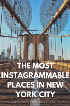 Welcome to New York, it's been waiting for you! Let's get to some instagrammable place in NYC!