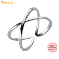 Rings Brilliant Mloveacc 925 Sterling Silver Peace Sign Open Rings For Women Vintage Female Jewelry Bijoux Friend Lovers Gift