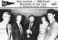 MiniJumbuk have had many achievements over the years, winning the 1986 Small Business of the Year award.