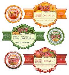 Etiquetas para conservas y mermeladas MERMELADAS