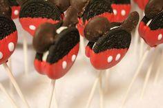 Galletas Oreo Mickey Mouse | Recetas para bebs y nios. Meriendas infantiles, desayunos, postres...