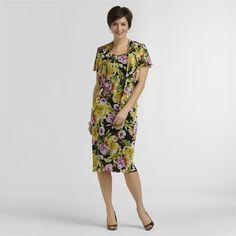 Studio 1 Chiffon Dress & Jacket Floral 2 pieces set Women's size 14 NEW  39.99 http://www.ebay.com/itm/Studio-1-Chiffon-Dress-Jacket-Floral-2-pieces-set-Womens-sizes-8-14-NEW-/261427538224?