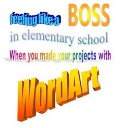 """bloglosingrip - fotos engraçadas 15 - Se sentindo """"like a boss"""" na escola quando você faz seus projetos com o WordArt? (...é como me sinto quando faço as edições """"toscas"""" dos meus vídeos de Gameplays Comentadas... e, se você nunca viu, passa lá: o link do canal é: http://www.youtube.com/user/GameplaysLosingrip . thanks!)"""