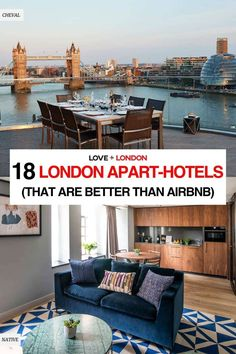 As a Londoner and a travel expert, I don't think anyone should be booking airbnbs in London. If you still want somewhere to stay that has a kitchen and sitting area, here are some incredible London apart-hotels that are better than staying in an airbnb in London. London Tips, Phoenix Homes, Travel Expert, London Apartment, Mansions Homes, London Hotels, Best Location, Rental Apartments, London Travel