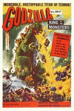 Godzilla, King of the Monsters - 1956 Original Gojira - 1954