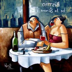 Dinner for Two by Ronald West