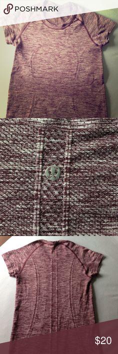Lulu lemon short sleeve athletic shirt Lulu lemon short sleeve athletic shirt in purple. Size 2 lululemon athletica Tops Tees - Short Sleeve