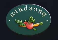 Windsong House Sign / Danthonia Designs