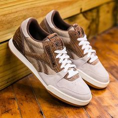 The  mitasneakers x  ReebokClassics Phase 1 Pro inspired by wooden tennis  rackets is available f382a470c