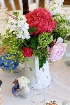 Flowers in jug