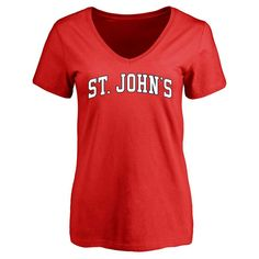 St. Johns Red Storm Women's Everyday Slim Fit T-Shirt - Red