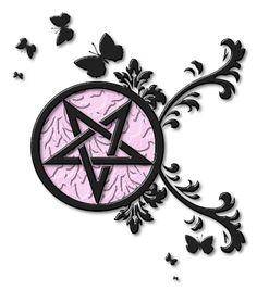 1000 ideas about pentagram tattoo on pinterest pagan tattoo tattoos and goddess tattoo. Black Bedroom Furniture Sets. Home Design Ideas
