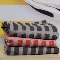 Artek Aalto Siena Black Tea Towels - Artek abc Collection
