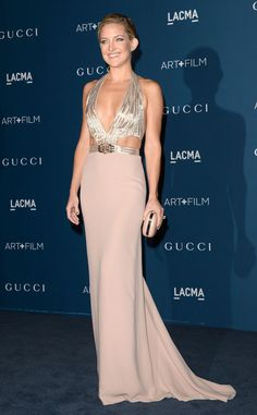 Kate Hudson, LACMA Gala Nov. 2013 in Gucci gown