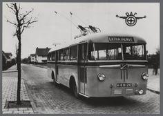 DAF Trolleybus met Verheul opbouw - 1949