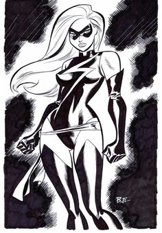 Ms. Marvel ~ Bruce Timm