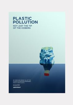 greenpeace plastic pollution poster