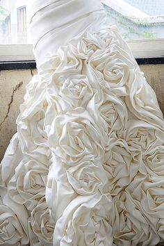 Skirt ruffles. Saison Blanche.  View this gown online: http://silkandstylebridal.com.au/our-collection/