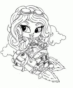 Monster High, : Monster High Character Draculaura Coloring Page ...