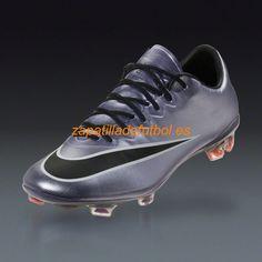 Zapatos de Futbol Nike Mercurial Vapor X FG Para Terreno Firme Urban Lila  Brillante Negro Blanco Cromo Mango 1548dd7288a5b