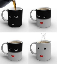 Smart coffee mug. I want this!