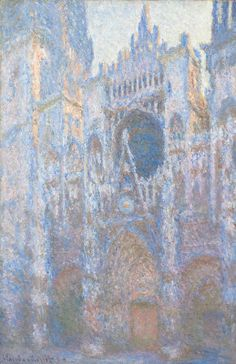 The National Gallery of Art, D.C.: Rouen Cathedral, West Façade, Claude Monet