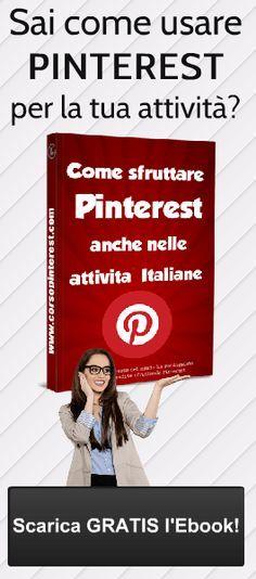 Come usare Pinterest per aumentare le vendite del tuo negozio — Corso PinterestCorso Pinterest