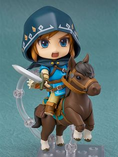 Nendoroid Link: Breath of the Wild Ver. DX Edition Series The Legend of Zelda: Breath of the Wild Manufacturer Good Smile Company Category Nendoroid Price ¥5,370 (Before Tax) Release Date 2017/06 Specifications Painted ABS&PVC non-scale figure with stand included. Approximately 100mm in height. Sculptor toytec D.T.C Cooperation Nendoron