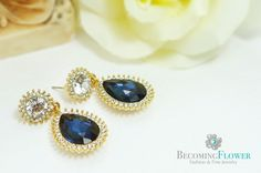 "Royal Blue Vancouver online jewelry shop BecomingFlower Fashion&Fine Jewelry!! We have beautiful and trendy collections of jewelry that are hand-crafted in Korea. Take advantage of our summer promotion! Type in ""Blossom"" at checkout to get 20% DISCOUNT on ALL ORDERS!!! Please visit www.Becomingflower.com"