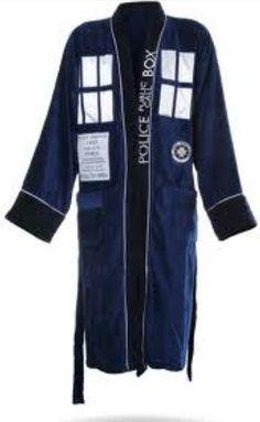 Dr. Who bathrobe