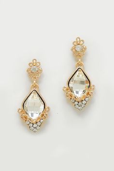 Crystal Milla Earrings | Women's Clothes, Casual Dresses, Fashion Earrings & Accessories | Emma Stine Limited