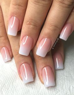 <img> 40 Fabulous Nail Designs That Are Totally in Season Right Now – nail art designs,almond nail art design, acrylic nail art, nail designs with glitter - Fabulous Nails, Perfect Nails, Ombre Nail Designs, Nail Art Designs, Ombre Nail Art, Nail Gradient, Natural Nail Designs, Classy Nail Designs, Pink Nails