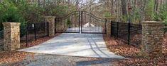 stone/brick driveway entrance | Georgia Rock Mason and Stone Work Gallery | Ellijay - Blue Ridge ...
