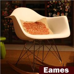 Eames Plastic Side Chair,Eames Rocking Chair,